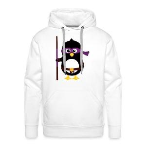 Pingouin Donatello - Sweat-shirt à capuche Premium pour hommes
