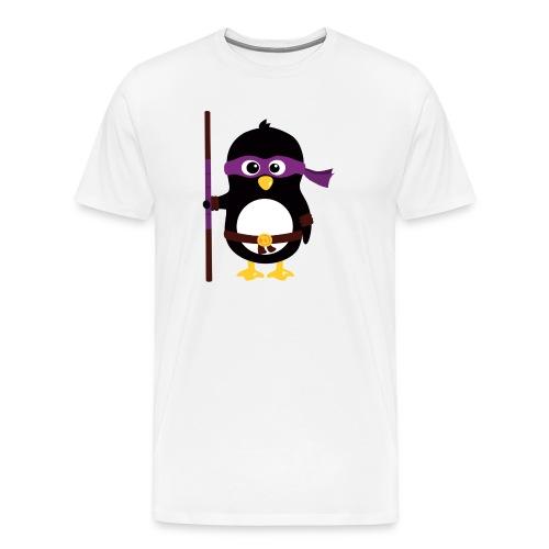 Pingouin Donatello - T-shirt Premium Homme