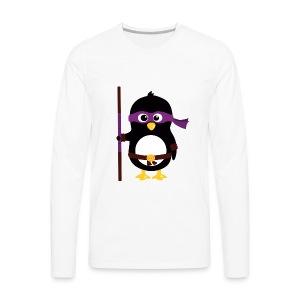 Pingouin Donatello - T-shirt manches longues Premium Homme