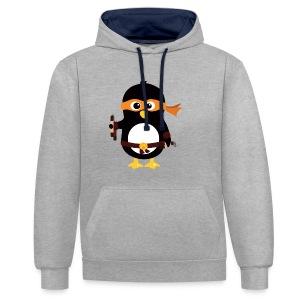 Pingouin Michaealangelo - Sweat-shirt contraste
