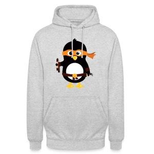 Pingouin Michaealangelo - Sweat-shirt à capuche unisexe