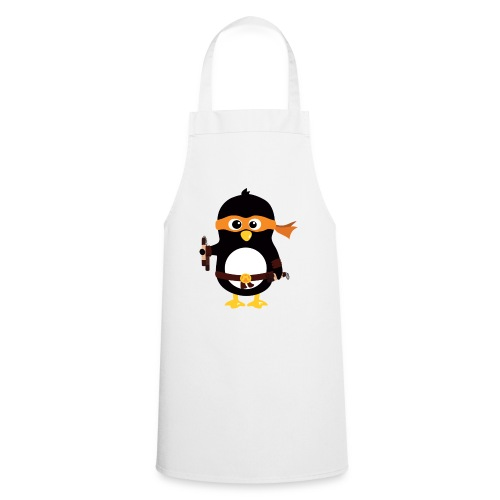 Pingouin Michaealangelo - Tablier de cuisine