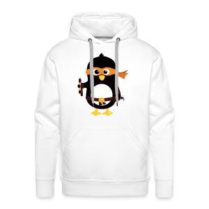 Pingouin Michaealangelo - Sweat-shirt à capuche Premium pour hommes