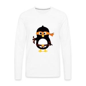 Pingouin Michaealangelo - T-shirt manches longues Premium Homme