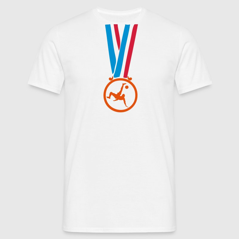 champion medaille football Tee shirts - T-shirt Homme