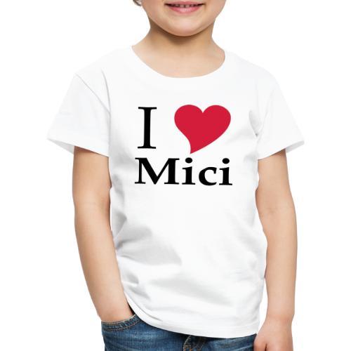 Schürze I Love Mici - Das Nationalgericht in Rumänien - Kinder Premium T-Shirt