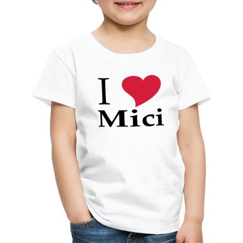 Schürze I Love Mici - Das Nationalgericht in Rumänien - Kinder Premium T-Shirt