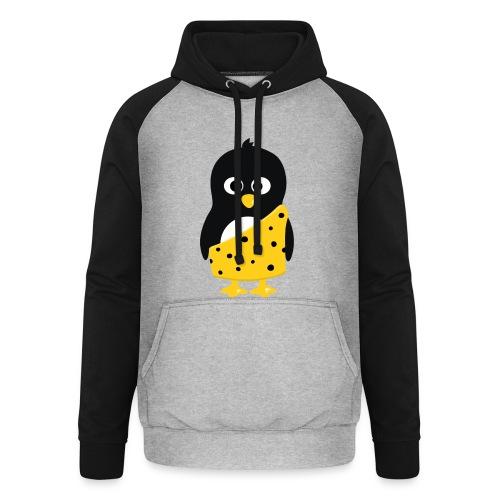 Pingouin Tarzan - T-shirt Geek - Sweat-shirt baseball unisexe