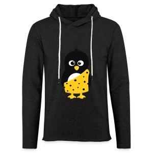 Pingouin Tarzan - T-shirt Geek - Sweat-shirt à capuche léger unisexe