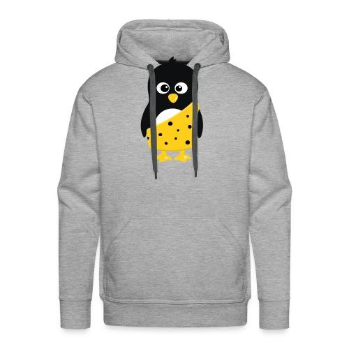 Pingouin Tarzan - T-shirt Geek - Sweat-shirt à capuche Premium pour hommes