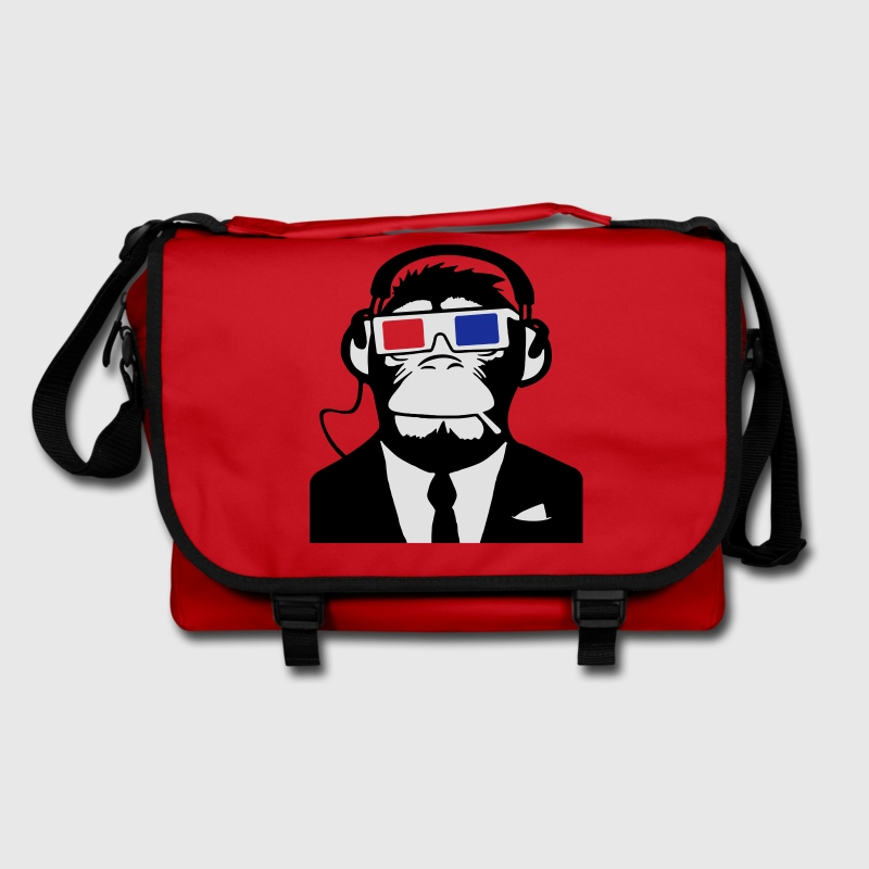 3D Ape Monkey Monkey Electroclub Headphones Headphones motif Bags  - Shoulder Bag