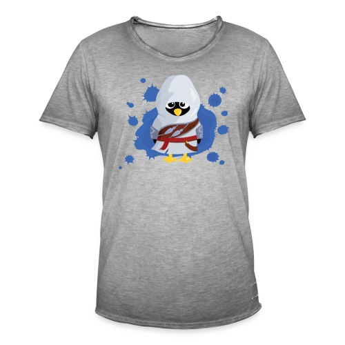 Pingouin's Creed - T-shirt Geek - T-shirt vintage Homme