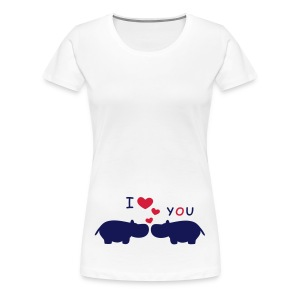 I Love You - Frauen Premium T-Shirt