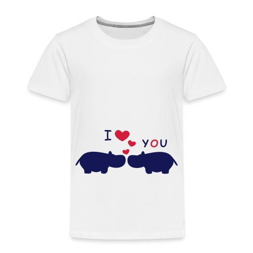 I Love You - Kinder Premium T-Shirt