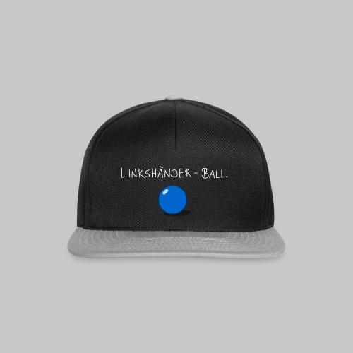 Linkshänderball - Snapback Cap