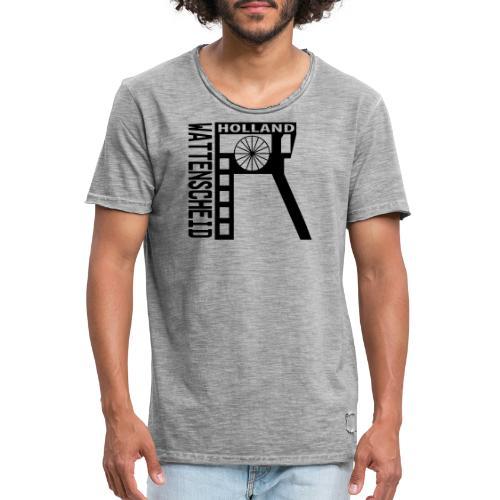 Zeche Holland (Wattenscheid) - Kapuzenpulli - Männer Vintage T-Shirt