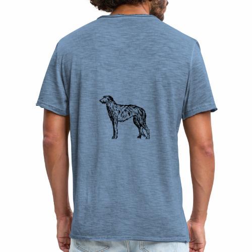 Deerhound 5 - Männer Vintage T-Shirt