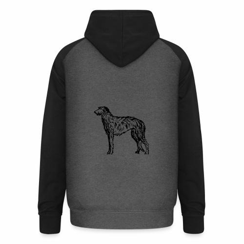 Deerhound 5 - Unisex Baseball Hoodie