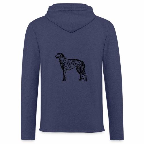 Deerhound 5 - Leichtes Kapuzensweatshirt Unisex