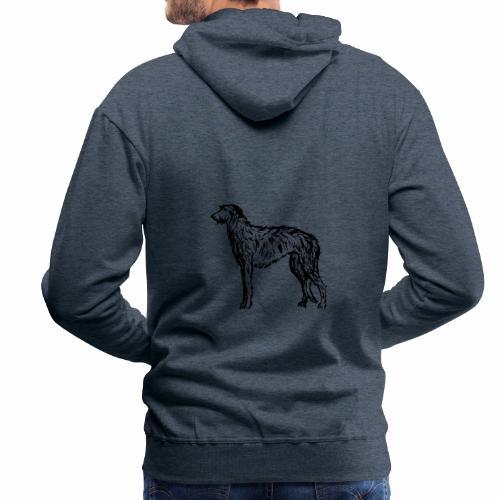 Deerhound 5 - Männer Premium Hoodie