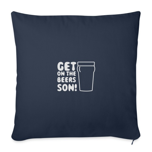 Get On The Beers Hoodie - Free colour choice - Sofa pillow cover 44 x 44 cm