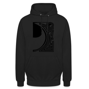 shirt ying yang double part two - Unisex Hoodie