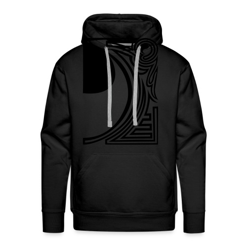 shirt ying yang double part two - Männer Premium Hoodie