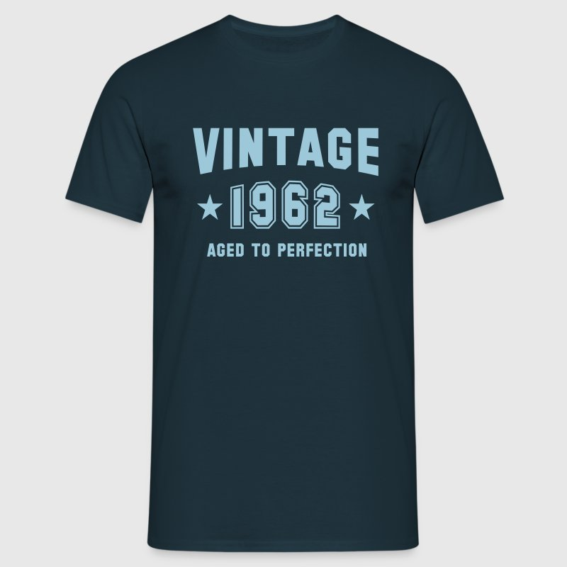 VINTAGE 1962 T-Shirt - Aged To Perfection SN - Men's T-Shirt