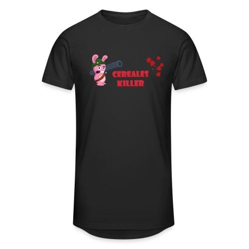 Lapin cereales killer - T-shrt Homme - T-shirt long Homme