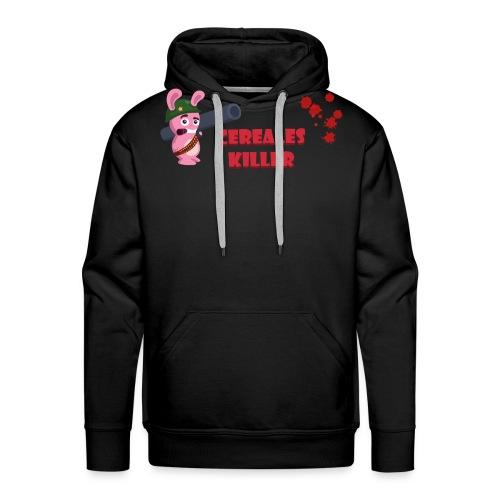 Lapin cereales killer - T-shrt Homme - Sweat-shirt à capuche Premium pour hommes