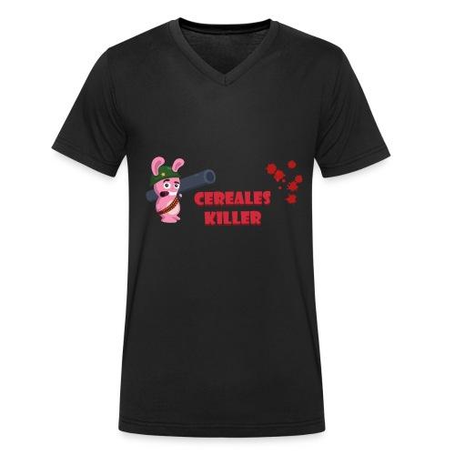 Lapin cereales killer - T-shrt Homme - T-shirt bio col V Stanley & Stella Homme