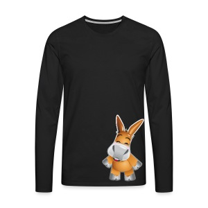 eMule Men's T-Shirt - Men's Premium Longsleeve Shirt
