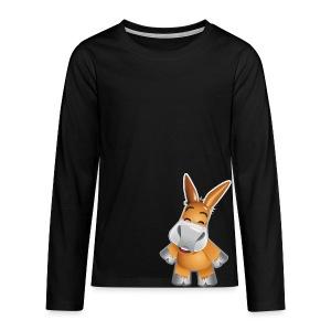 eMule Men's T-Shirt - Teenagers' Premium Longsleeve Shirt