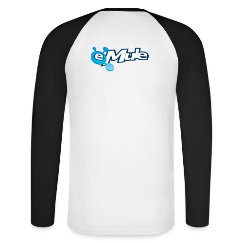 eMule Mug - Men's Long Sleeve Baseball T-Shirt