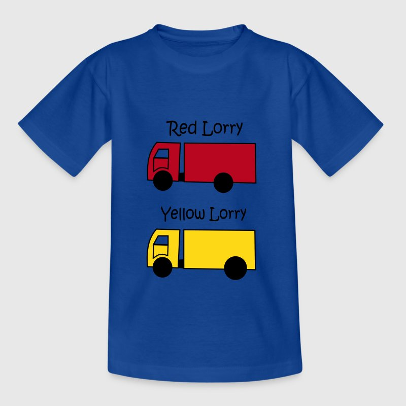 Red Lorry Yellow Lorry Kids' Shirts - Kids' T-Shirt