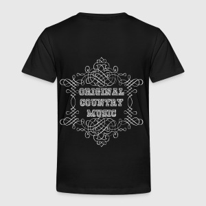 original country music Hoodies - Kids' Premium T-Shirt