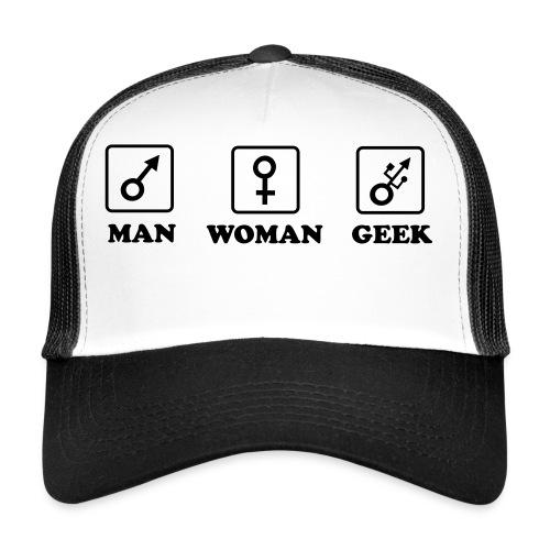 Man - Woman - Geek