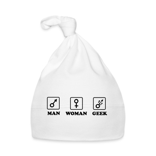 Man Woman Geek T-shirt - Bonnet Bébé