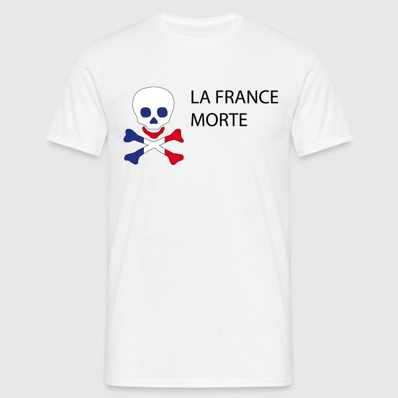 La France Morte - Politique Tee shirts - T-shirt Homme