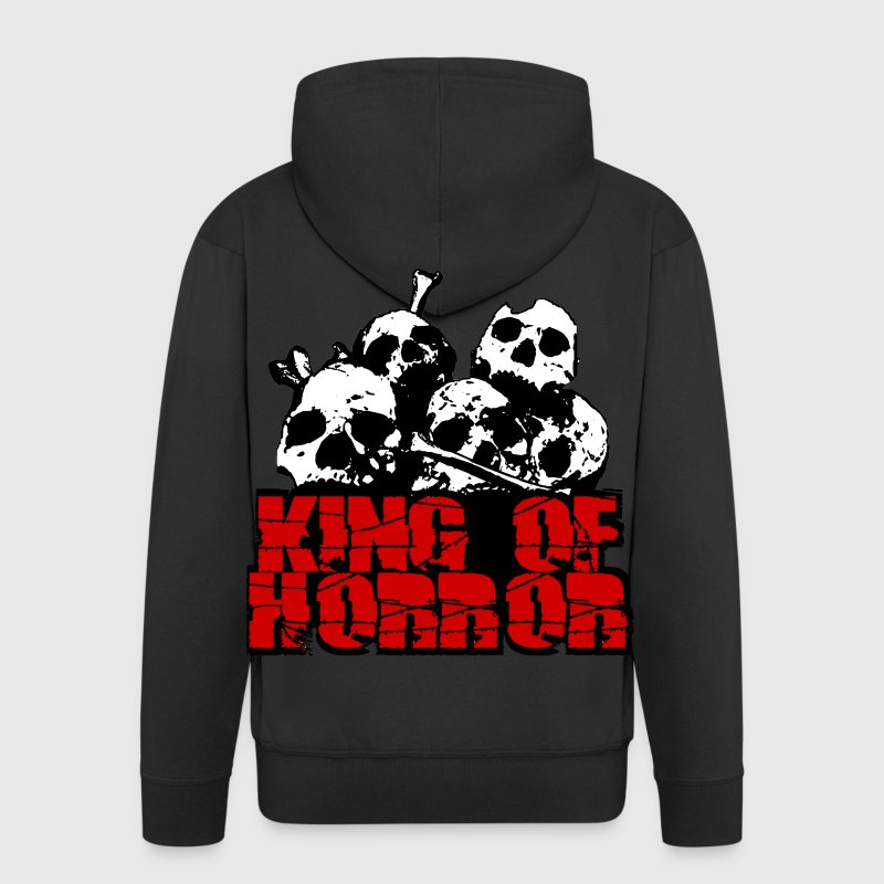 king of horror Pullover & Hoodies - Männer Premium Kapuzenjacke