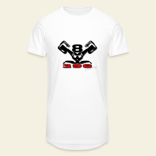 396 CUI V8 t-shirt - loose - Herre Urban Longshirt