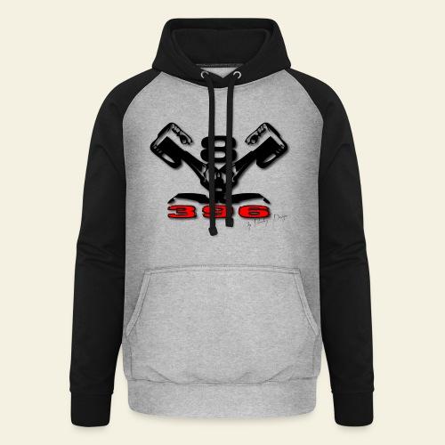396 CUI V8 t-shirt - loose - Unisex baseball hoodie