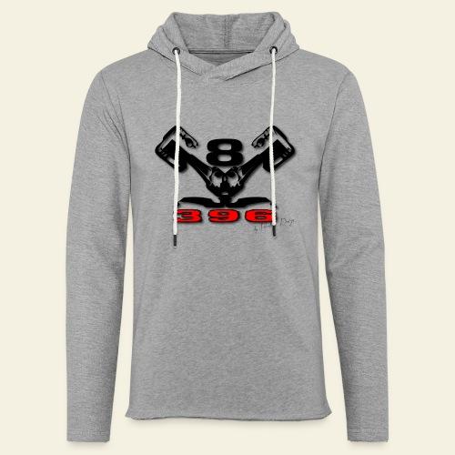 396 CUI V8 - Let sweatshirt med hætte, unisex