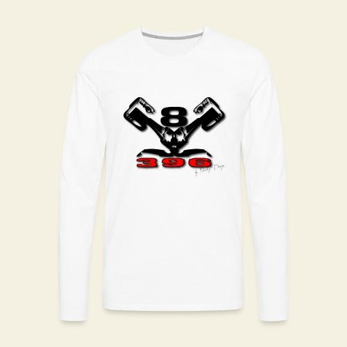 396 CUI V8 t-shirt - loose - Herre premium T-shirt med lange ærmer