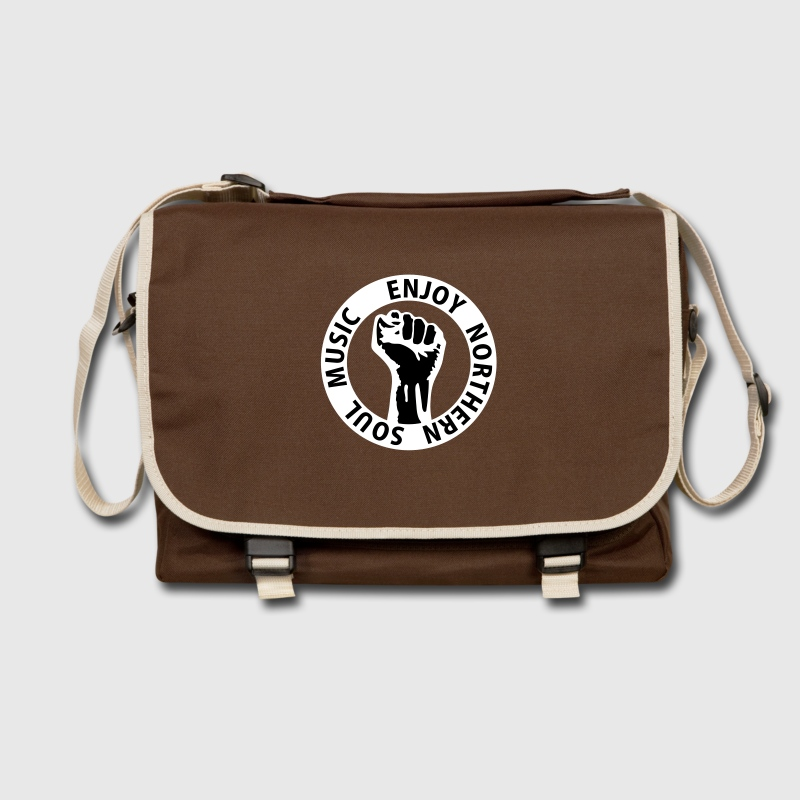 2 colors - Enjoy Northern Soul Music - nighter keep the faith Bags  - Shoulder Bag