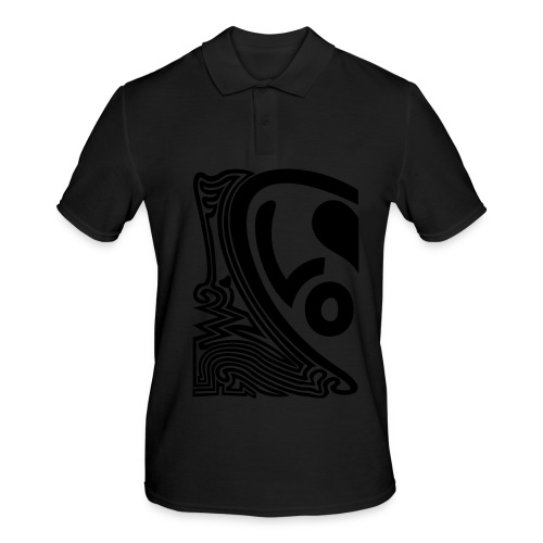 shirt halbes herz - Männer Poloshirt