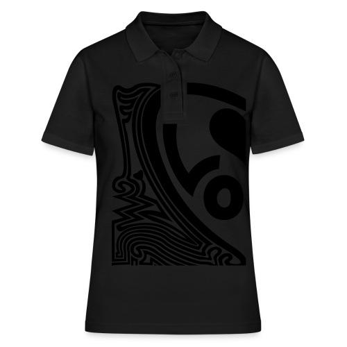 shirt halbes herz - Frauen Polo Shirt