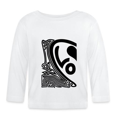 shirt halbes herz - Baby Langarmshirt