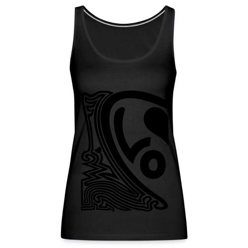 shirt halbes herz - Frauen Premium Tank Top