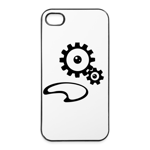 Gears Steampunk T-shirt Men - iPhone 4/4s Hard Case